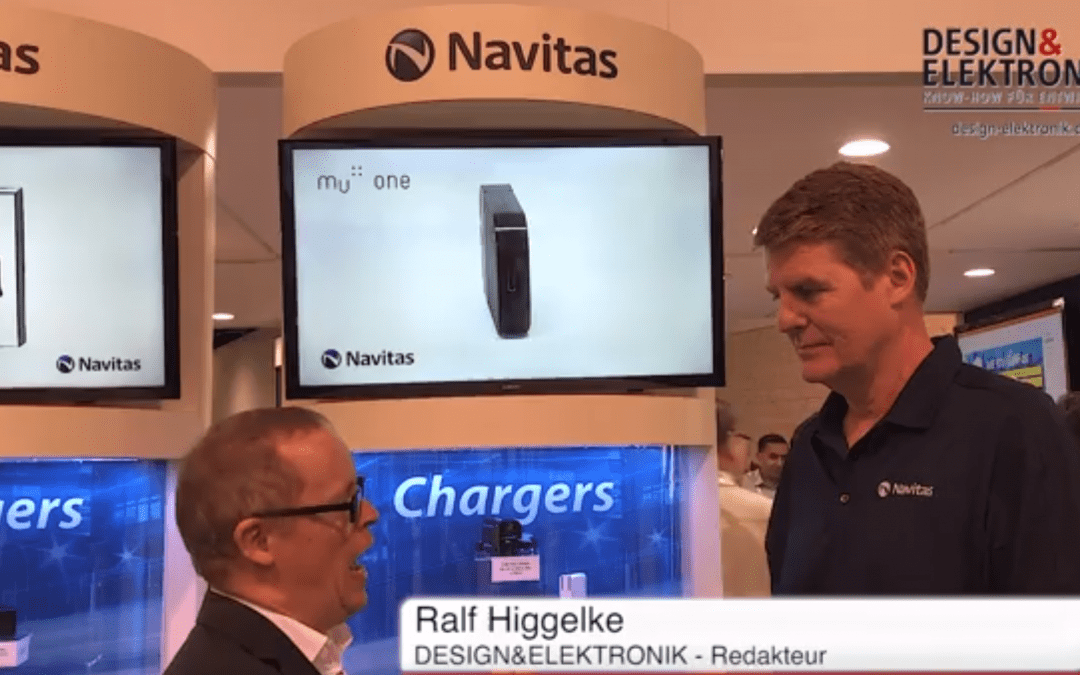 Gene Sheridan interviewed at APEC 2019 about GaNFast availability