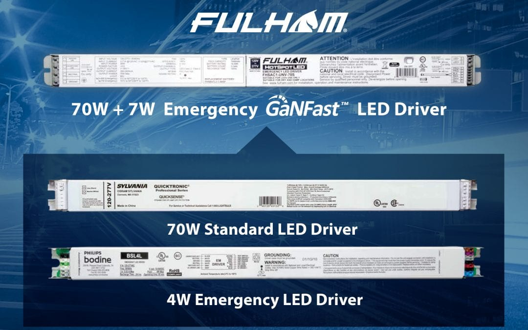 Navitas' GaNFast™ Enables 2x Shrink and 75% More Emergency Lighting