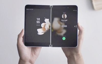 Microsoft get into the foldable phone game with the SurfaceDuo
