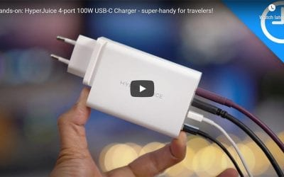 Hands-on with the world's smallest 100W GaN USB-C charger from Hyper