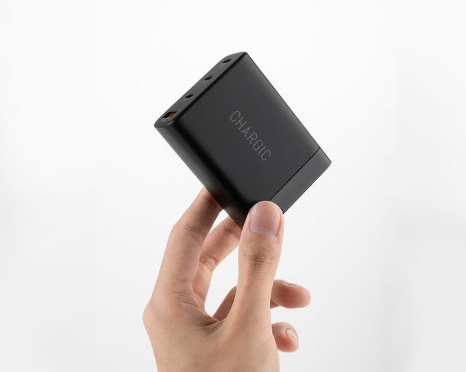 Indiegogo – CHARGIC, Small & Powerful 100W USB-C GaN Charger