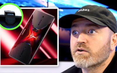 UnboxTherapy – Lenovo Legion Phone Looks Like a Beast