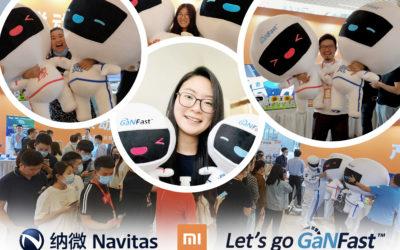 Navitas Launch 'Little Star GaN' Mascots at Exclusive Xiaomi Technology Day