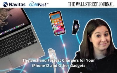 WSJ Announce GaNFast Charging is the Discovered 'Holy Grail' of Apple Fast Charging