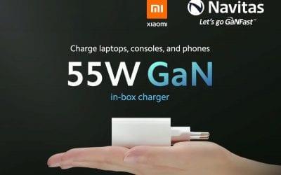 小米11携55W氮化镓充电器全球上市,纳微氮化镓技术走向世界
